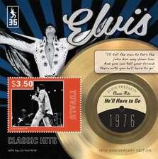 "Tuvalu - Elvis Presley ""He'll Have to Go"" Stamp Souvenir Sheet TUV1209"