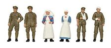 WW1 Medical Staff &Soldiers (x6) Bachmann 36-409 - OO painted figures free post