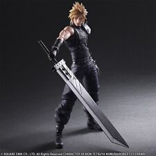 "Square Enix Play Arts Final Fantasy VII 7 Remake ""Cloud Strife"" Figure Authentic"