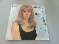Vinyle Disk 45 Tours Gionchetta Agate Belinda JR0058