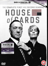 House of Cards - Complete Season 1 & 2 - Brand New & Sealed