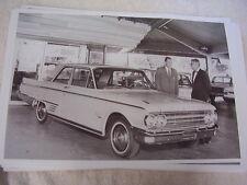 1962 MERCURY METEOR 2 DOOR IN DEALER  SHOW ROOM  11 X 17  PHOTO  PICTURE