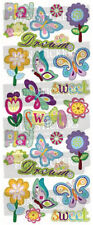 """BEAUTIFUL FUN STICKERS """" SWEET DREAMS """" FOR CARDS & CRAFT"""