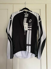 Assos Cycling Mille long Sleeve Jersey Black Volkanga - Size M Brand New  Tags