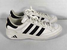 Adidas White Leather Men's Low Top  Nastase Millennium Tennis Shoe Size 12