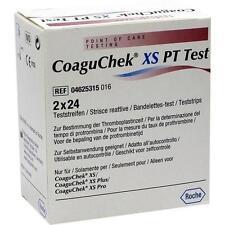 COAGUCHEK XS PT Test 2X24 St PZN 7522517