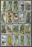 1937 Churchman's Wonderful Railway Travel Tobacco Cards Complete Set of 50