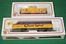 Bachmann HO scale Chessie System EMD F9 Diesel Engine #7071 & Caboose