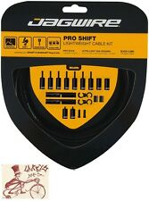 JAGWIRE PRO SHIFT DERAILLEUR BLACK ROAD/MOUNTAIN SRAM/SHIMANO CABLE KIT
