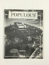 Manual The Populous Game By Bullfrog French / 1989 89