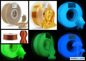 3D Printer Genuine Brands PLA TPU WOOD ABS Filaments 1.75mm - NOT A FULL ROLL