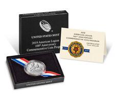 2019 D American Legion 100th Commemorative Clad Half Dollar Gem Bu Ogp Sku57404