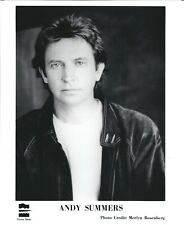 Andy Summers press kit, Classic 8x10 photo! 1991, The Police, World Gone Strange