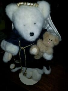 "Boyds Bears Plush Celeste Angel Trusy & Hope Limited Edition Bear 16""  w/stand"