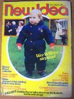 New Idea Magazine - January 7, 1984 - Prince William, Britt Ekland, Debbie Byrne