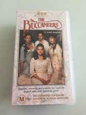 BBC CLASSICS   *  THE BUCCANEERS   *    RARE VHS   ( 2 X VHS TAPES )