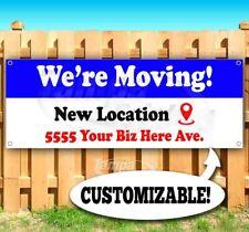 Were Moving Custom Location Advertising Vinyl Banner Flag Sign Sizes Business