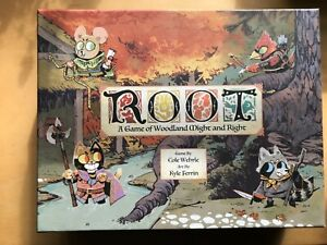 Root - A Game of Woodland Might and Right - 1st Edition