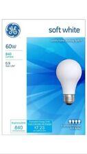 8 Pack GE 60 Watt Soft White Incandescent Light Bulbs -41028-