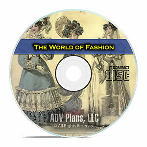 The World of Fashion and Continental Feuilletons, Women's Fashion, CD DVD E47