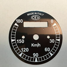 Fondo scala per tachimetro CEV per Ducati Scrambler 250 - 350 - 450 scala km 180
