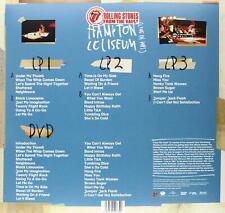 From The Vault-Hampton Coliseum Live In 1981 Rolling Stones 3LP + 4 DVD Nuevo