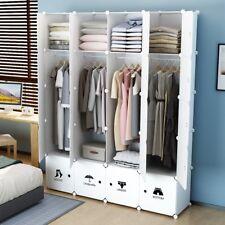 MAGINELS Portable Clothes Closet Wardrobe Armoire Dresser Storage Organizer