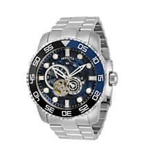 INVICTA ProDiver AUTOMATIC Blue Mult-Dial w/Rotating Bezel 50mm Mens Watch 30401