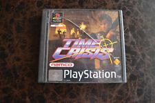 Time Crisis - PS1 / Playstation 1 - Sans Notice - FR - Disque en TBE