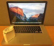 "2009 Apple MacBook Pro 5,3 15"" Intel Core 2 Duo 3.06GHz 4GB RAM 120GB HD A1286"