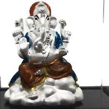 Ganesha / Ganpathi Pure Silver (999) Idol / Statue / Murti (Figurine# 10)