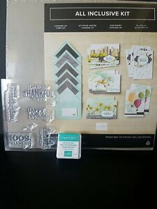 """Stampin Up """"Looking Up"""" Card Kit, Unused"""