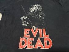 Rare vintage Evil Dead T-shirt  zombie horror movie, Sam Raimi, Bruce Campbell