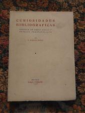 1946 Curiosidades Bibliograficas Rebusca De Libros Viejos Papeles Traspapelados