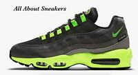 "Nike Air Max 95 ""Black/Medium Ash/Dark Pewter/"" Trainers Limited Stock All Sizes"