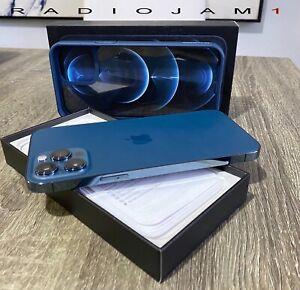 Apple iPhone 12 Pro Max 128GB Pacific Blue (Claro) (Verizon) With Accessories