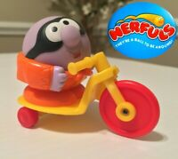 Speedy - Nerfuls Vintage 1985 Parker Brothers Figure w/ Tricycle