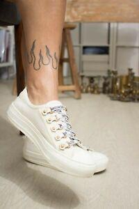 Dior Walk'N'Dior Round-Toe Sneakers sz 37 1/2
