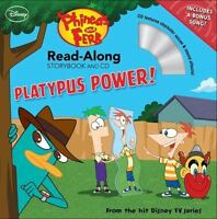 Phineas and Ferb Read-Along Storybook and CD: Platypus Power! [ O'Ryan, Ellie ]