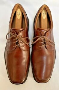 Rockport Mens Leather Oxford Lace Up Brown Dress Shoes Size 46/12-12.5