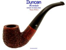 Duncan Briars Kentmere 9mm Filter Smooth Bent Billiard Pipe b NEW England