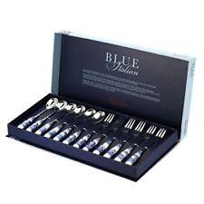 Spode Bli1103-x Blue Italian - Servizio di posate in porcellana e acciaio inox