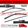"""FRONT AERO WIPER BLADES PAIR 21"""" + 19"""" FOR VOLKSWAGEN POLO SALOON 2002-2005"""