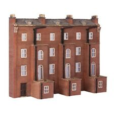 Graham Farish SceneCraft 42-227 N Gauge Low Relief Rear Victorian Tenements NEW