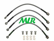 ROVER MG TF 1.6 1.8 VVC AEROQUIP S/STEEL BRAIDED BRAKE LINES HOSES PIPES MLR.VQ