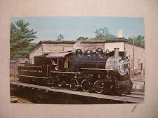VINTAGE PHOTO POSTCARD CONWAY SCENIC RAILROAD TRAIN NO. 47 NEW HAMPSHIRE UNUSED
