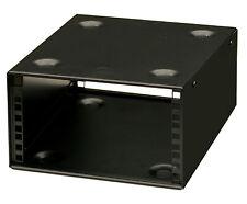 3U 10.5 inch (266 mm) Half-Rack 200 mm DEEP STACKABLE  AV AUDIO CABINET CASE
