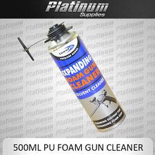 BOND IT CONTRACTORS GUN GRADE PU FOAM CLEANER 500ML AEROSOL CAN  EXPANDING