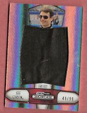 JEFF GORDON NASCAR RACE USED JUMBO FIRESUIT CARD #d99