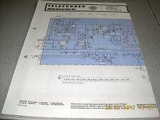 TELEFUNKEN magnetophon mc310 mc310ska schema elettrico